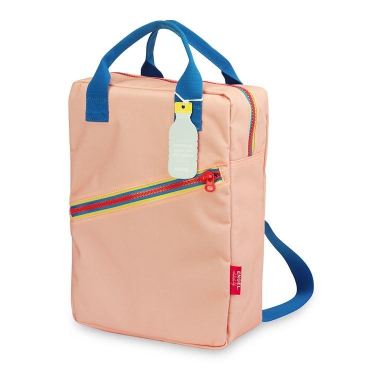 Zaino large zipper pink   -   engelpunt