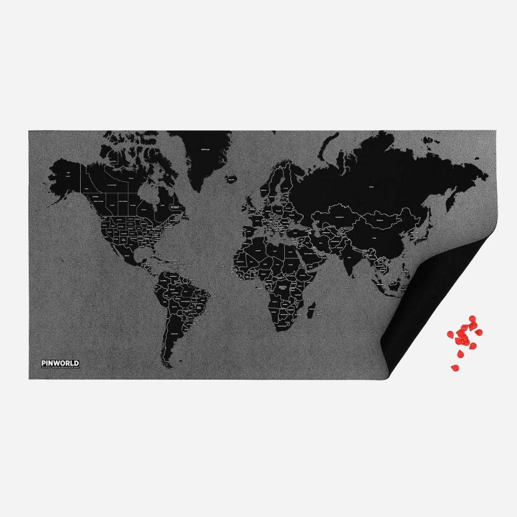 Pinworld by countries black - palomar