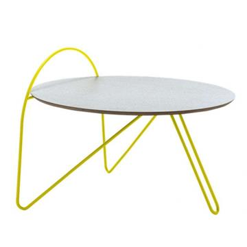 W5 COFFE TABLE LIGHT BLUE/YELLOW  -  Adonde
