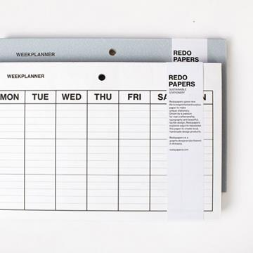 Weekly planner    -   redopapers
