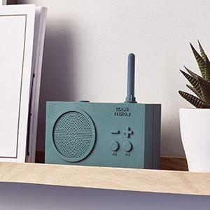 Tykho 2 radio green dark   -   lexon