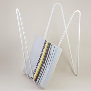 MW MAGAZINE RACK WHITE  -  Adonde