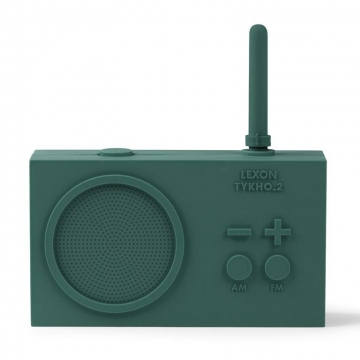 TYKHO 2 RADIO GREEN DARK   -   Lexon