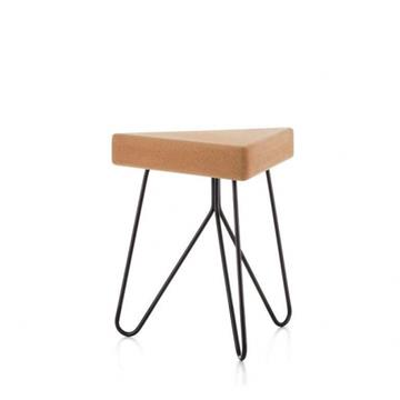 TRES STOOL TABLE BLACK  -  Galula