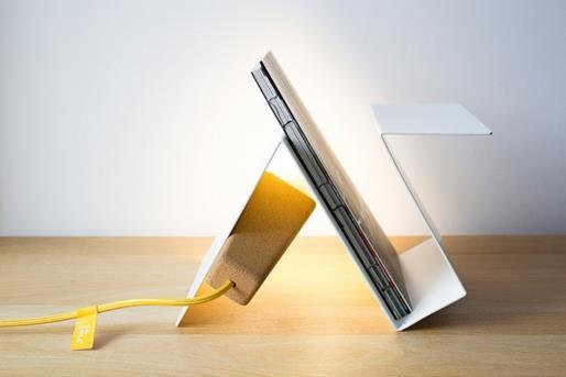 Glint lamp #3 white/yellow  -  galula