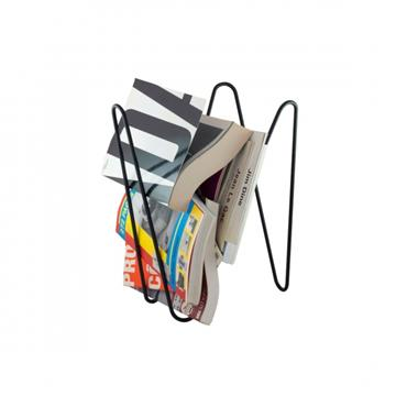 MW MAGAZINE RACK BLACK -  Adonde