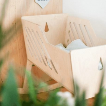 TULI CRADLE NATURAL   -   Nuki