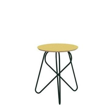 W3 LOWER STOOL MUSTARD/BLACK -  Adonde