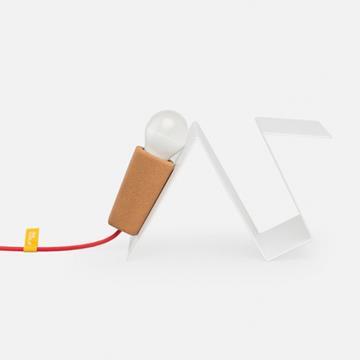 GLINT LAMP #3 WHITE/RED  -  Galula
