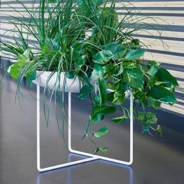 PLANT BOWL 750 WHITE OUTDOOR-Konstantin Slawinski